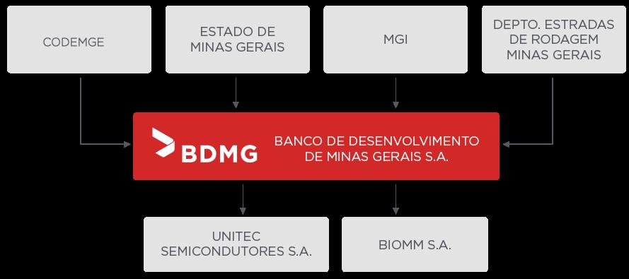BDMG Estrutura Acionária